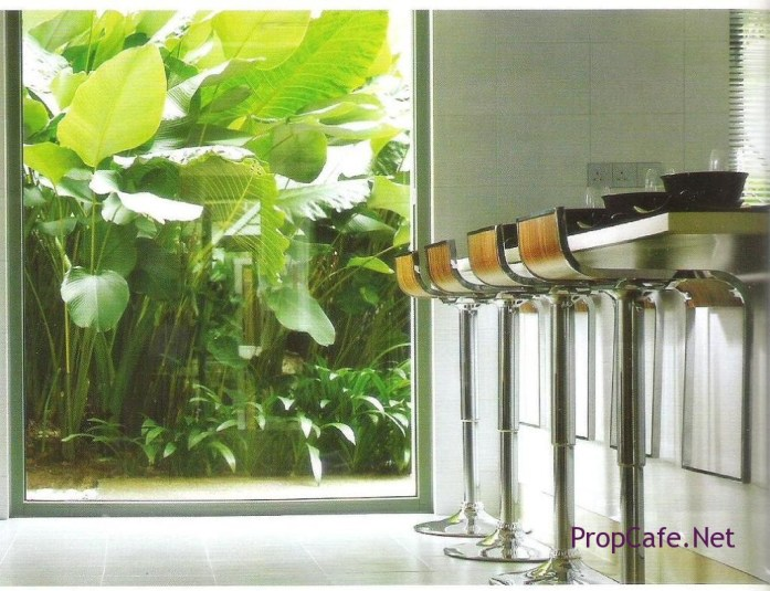 Setia Ampang Hills - like how the outdoor plants bring life to the indoor furniture.