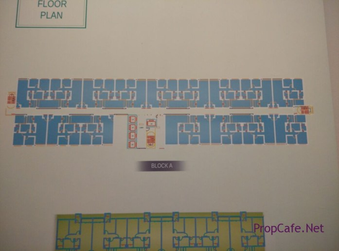 Casa Green Bukit Jalil Block A Floor Plan