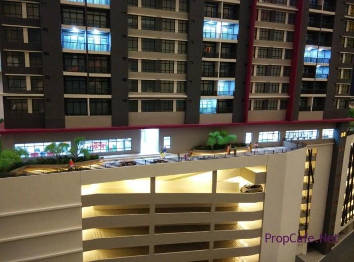 Casa Green Bukit Jalil Indoor Facilities Gym abd Hall underneath Block C