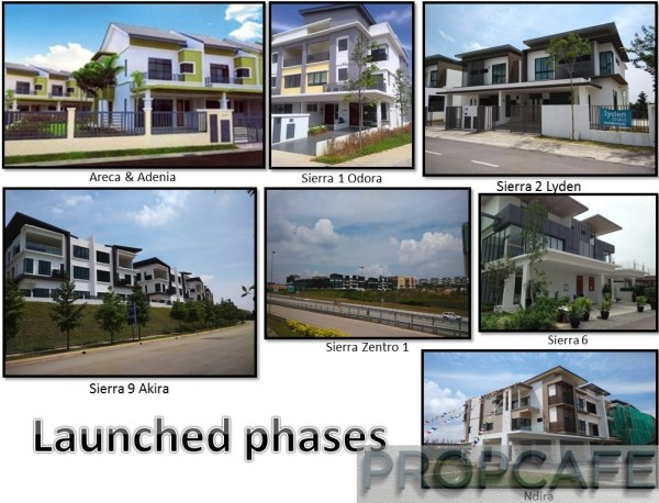 16 Sierra launched phases