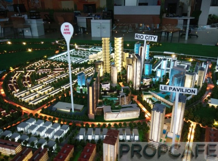 Le Pavillion IOI Rio City Puchong Scale Model 01