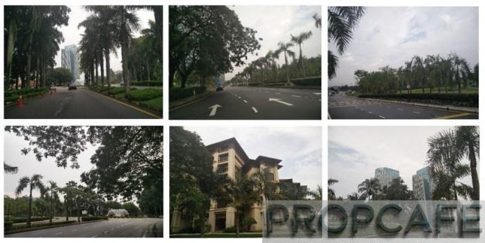 IOI Resort City Streetscape