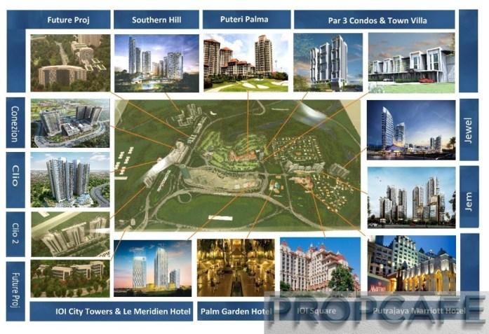 Master Plan IOI Resort City
