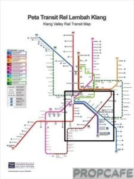 Bandar_puteri_warisan_rail_map