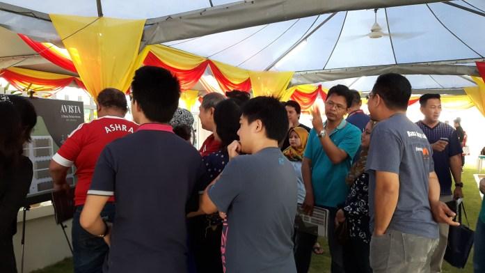 Avista Bandar Puteri Warisan Launching