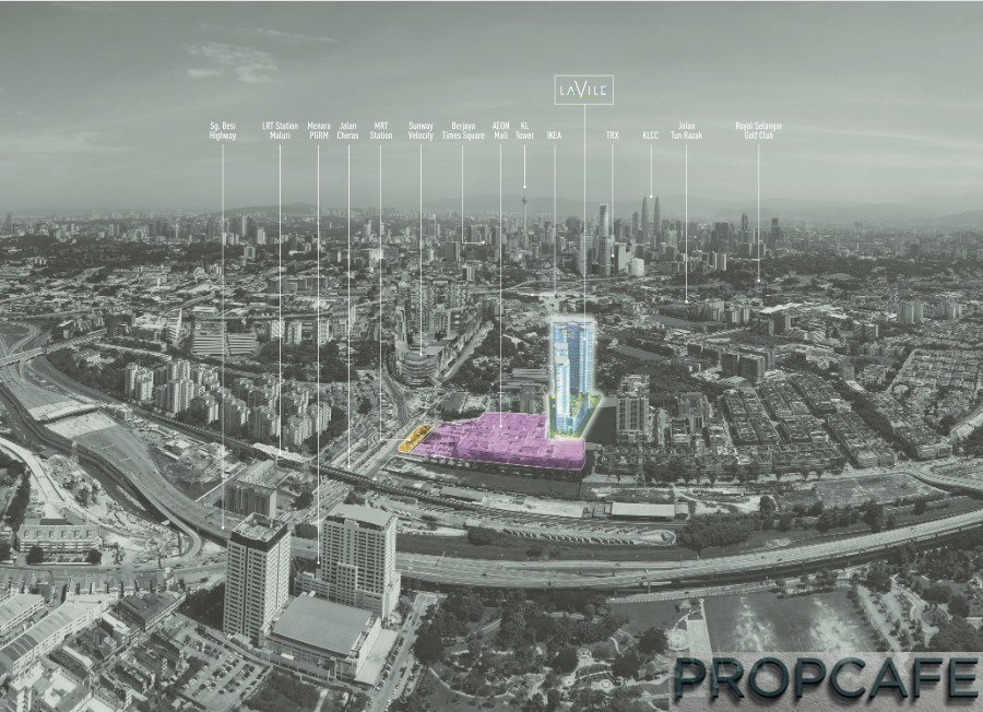 PROPCAFE Peek: Lavile Kuala Lumpur by Orando Holdings