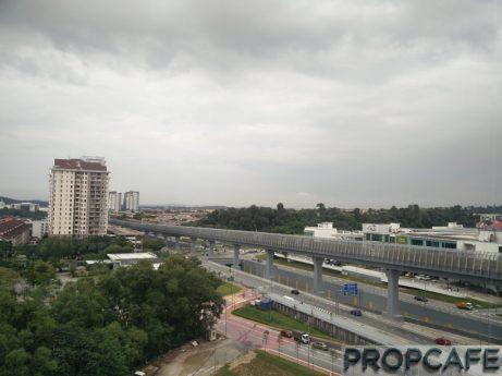 MRT Track and Kota Damansara