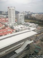Surian MRT Station View from the top