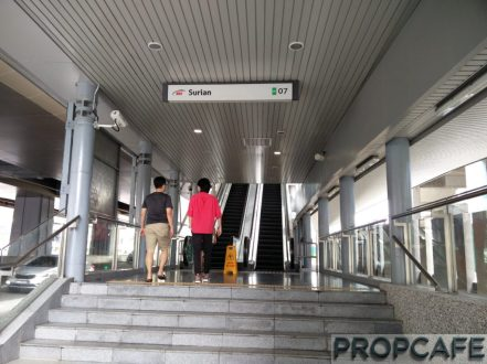 Escalator to help the old man infront :)