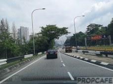 Exit to Jalan Kuching