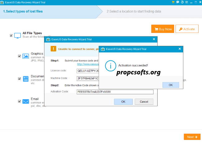 EaseUS Data Recovery Wizard License Code 2021