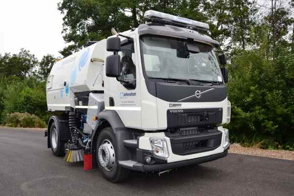 Volvo Hydrostatic Road Sweeper With Allison