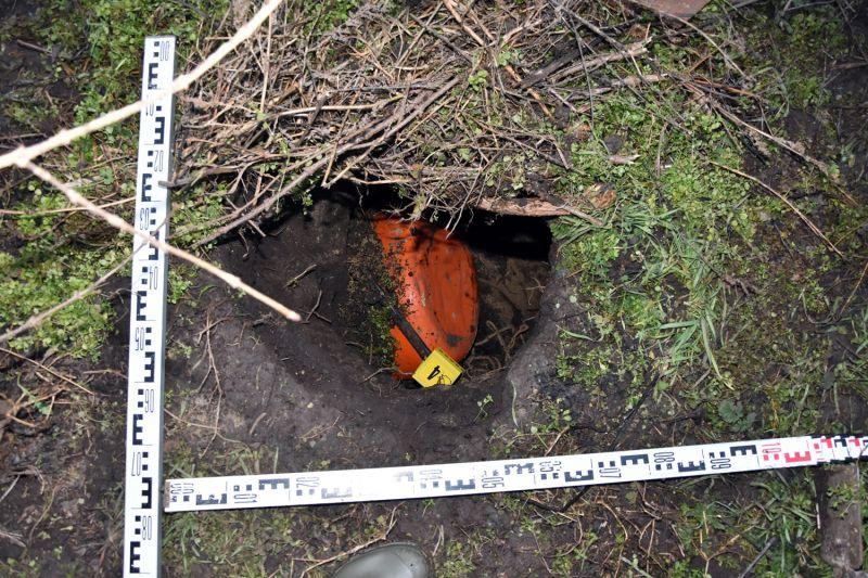 Újabb alagutat találtak a rendőrök a déli határkerítésnél – fotók