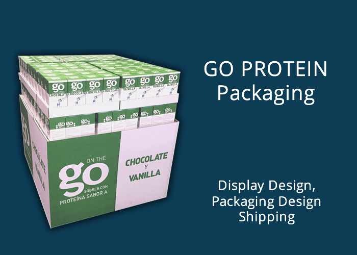 Go Protein packaging