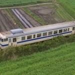 「Litchi」WAYPOINTを使って鉄道を撮影