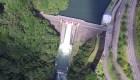 高隈ダムをドローンで空撮