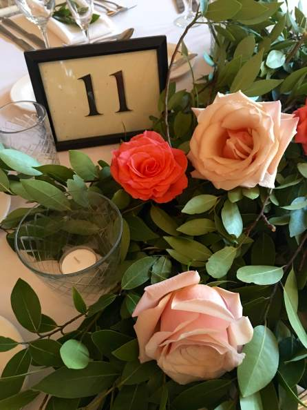 table arrangements and floral design by Ashley Fox