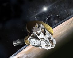 New Horizons – First Pluto flyby