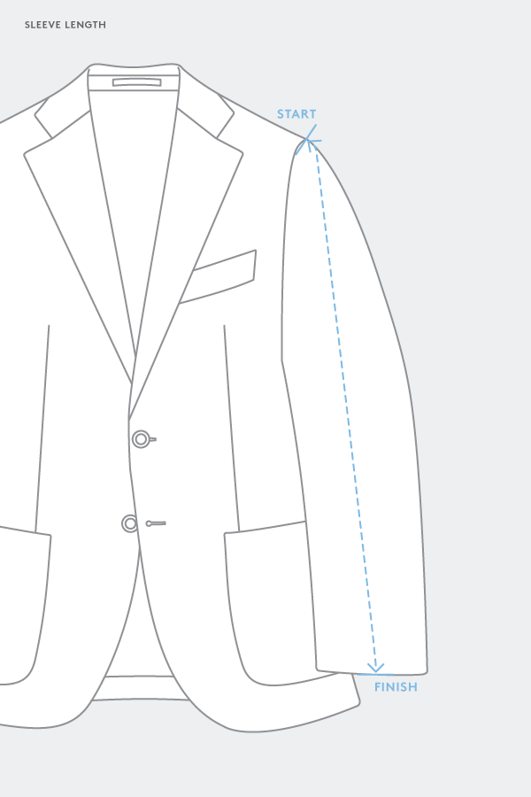 How to Measure Tailored Suit Jackets and Sport Coats