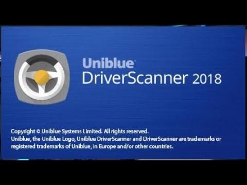 Uniblue DriverScanner Keygen Patch