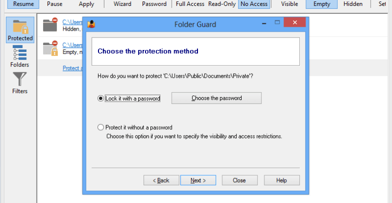 Winability Folder Guard Pro 18.5.0 download