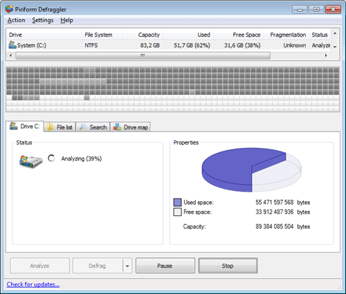 Defraggler Professional 2.22.995 Crack & Serial Key 2019 Free Download