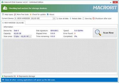 Macrorit Disk Scanner 4.3.5 with Key Free Download