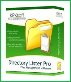 Directory Lister Enterprise 2.35 Cover