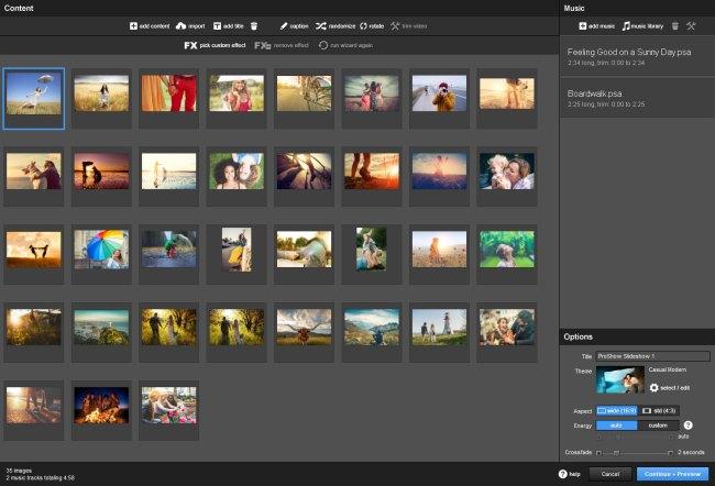 Photodex ProShow Producer Screenshot 2