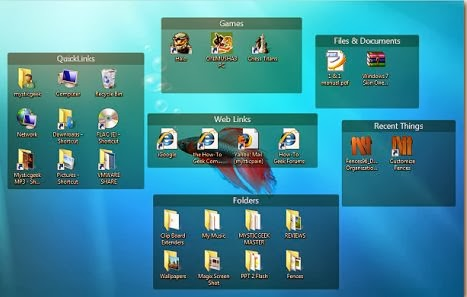 Stardock Fences 3.0 Screenshot 1