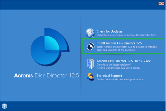 Acronis Disk Director 12.5 Crack Screenshot 2