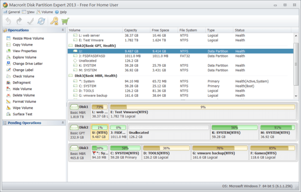 Macrorit Partition Expert 5.3 Screenshot 1