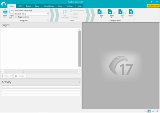 Readiris Corporate 17.2 Screenshot 1