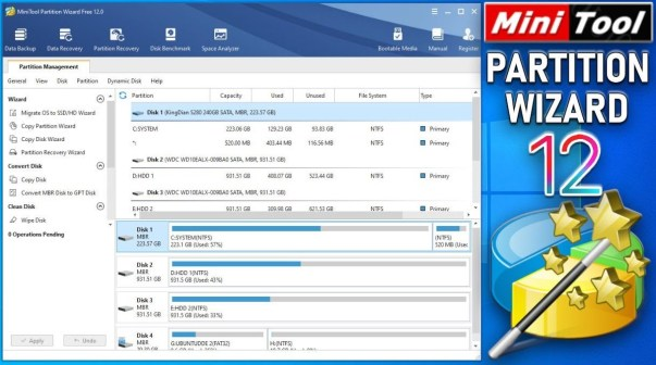 MiniTool Partition Wizard Crack Pro