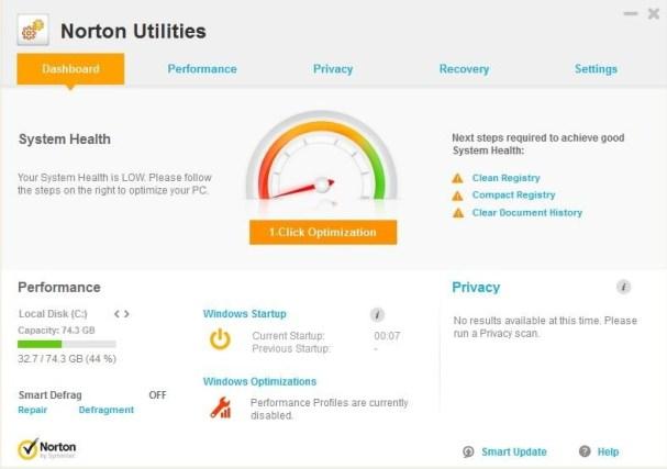 Norton Utilities Crack Download