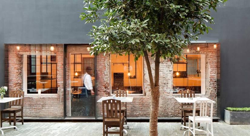 minimalist restaurant design