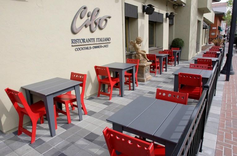 Cibo Restaurant Patio