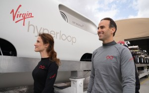 First Hyperloop Passengers Josh, Sara