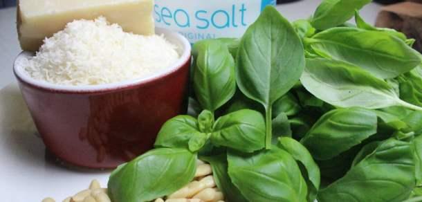 Pesto ingredients   properfoodie.com