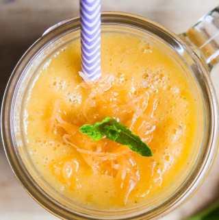 Orange Summer Smoothie