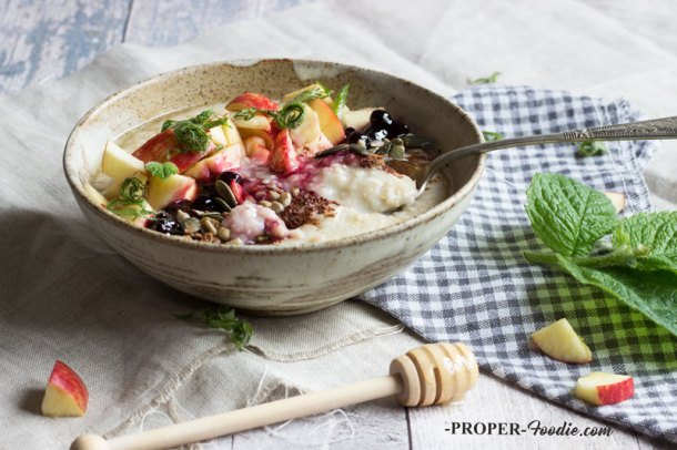 Work with me properfoodie nutritionist chef food photographer fruit honey and cacao porridge forumfinder Images
