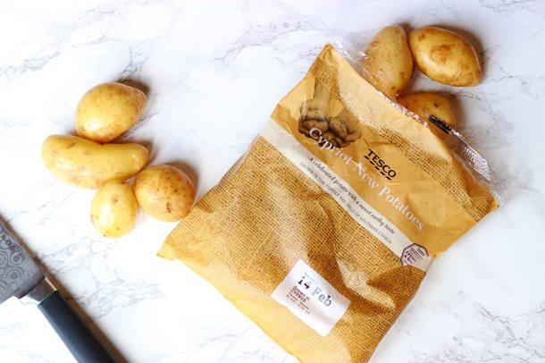 cypriot potatoes tesco