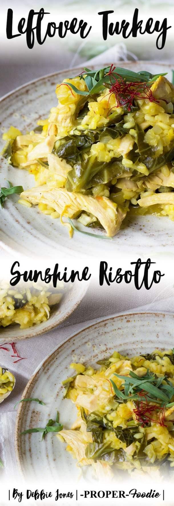 Leftover Turkey Sunshine Risotto