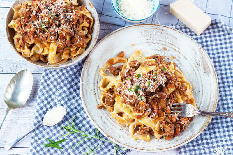 How to make the best Salami and Pork Ragu: Pasta Guide #2