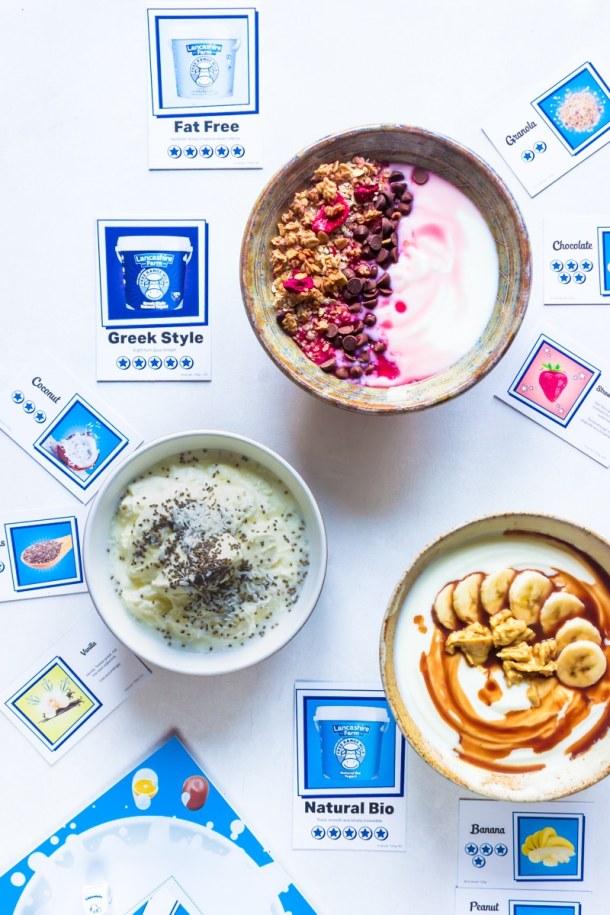 Lancashire farm free range yogurt