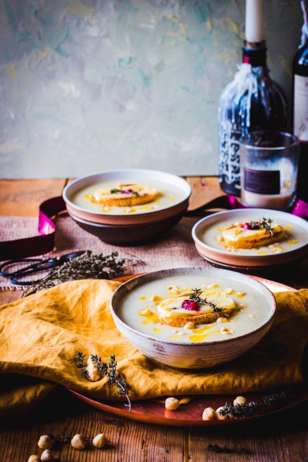 Celeriac and Potato Christmas Soup_Debra Jones