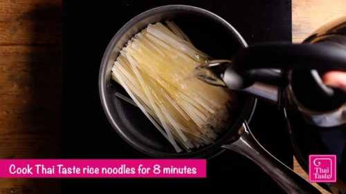 cook noodles in boiling water for 8 minutes