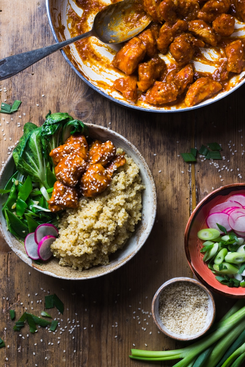 Sesame Seed Chicken