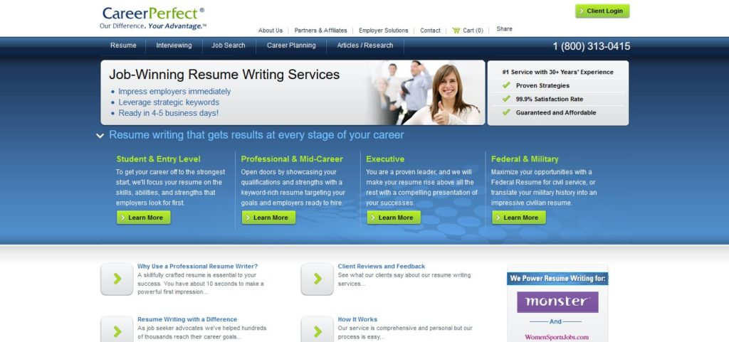 CareerPerfect.com Review (5.1/10) - ProperResumes