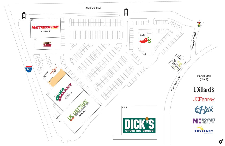 Winstonsalem, Nc  Available Retail Space & Restaurant
